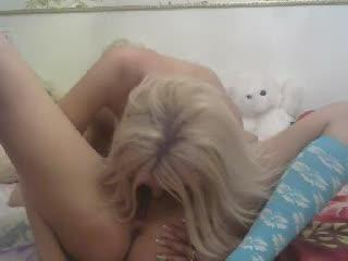 Nastysha webcam sex video - Teddy bears shamelessly watch oral sex of two luxury dolls